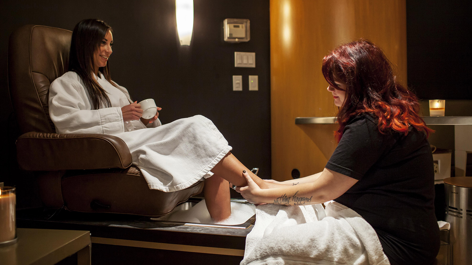 Pedicure at Urban Oasis Mineral Spa